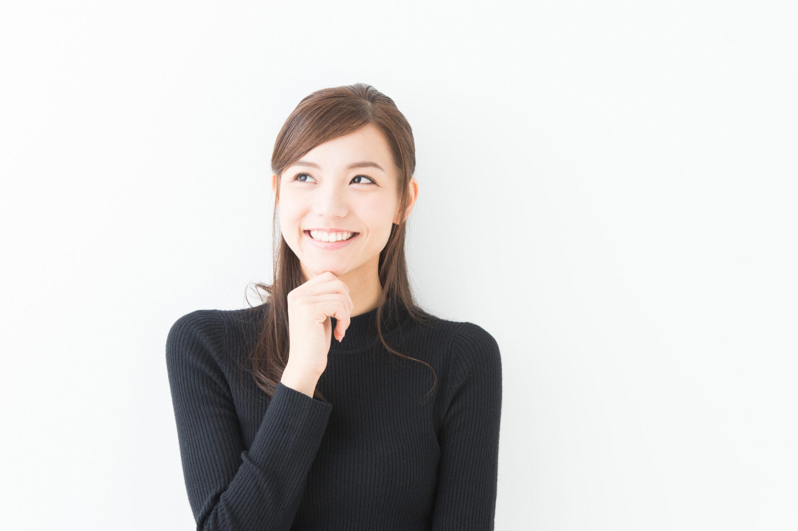 女性・笑顔